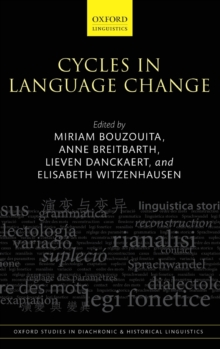 Cycles in Language Change, Hardback Book