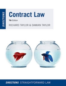 Contract Law Directions, Paperback / softback Book