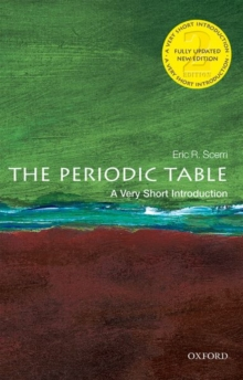 The Periodic Table: A Very Short Introduction, Paperback / softback Book