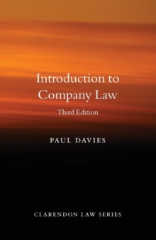 Introduction to Company Law, Paperback / softback Book