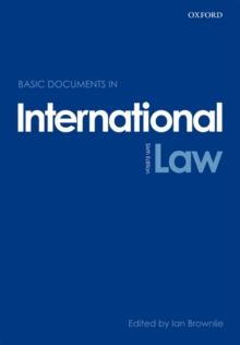 Basic Documents in International Law, Paperback / softback Book