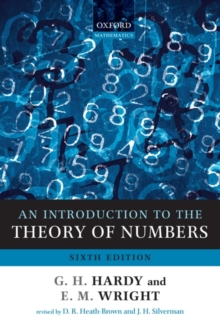 An Introduction to the Theory of Numbers, Paperback / softback Book