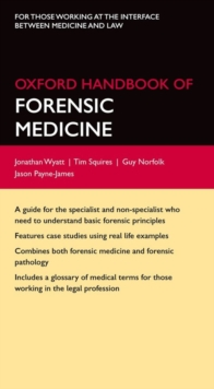 Oxford Handbook of Forensic Medicine, Part-work (fasciculo) Book