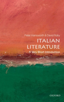 Italian Literature: A Very Short Introduction, Paperback Book