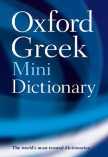 Oxford Greek Mini Dictionary, Paperback / softback Book