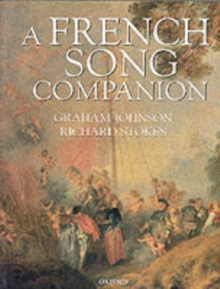 A French Song Companion, Paperback Book