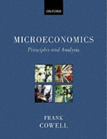Microeconomics : Principles and Analysis, Paperback Book