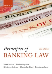 Principles of Banking Law, Paperback / softback Book