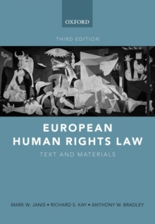 European Human Rights Law : Text and Materials, Paperback / softback Book