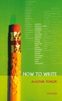 How to Write, Paperback / softback Book