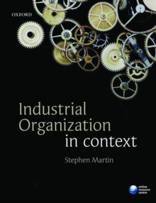Industrial Organization in Context, Paperback / softback Book
