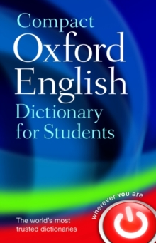 Compact Oxford English Dictionary for University and College Students, Paperback / softback Book