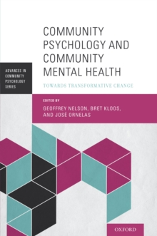 Community Psychology and Community Mental Health : Towards Transformative Change, PDF eBook
