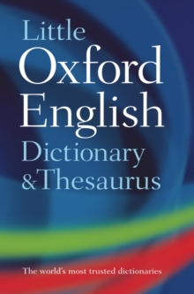 Little Oxford Dictionary and Thesaurus, Hardback Book