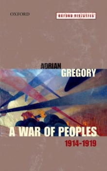A War of Peoples 1914-1919, Paperback / softback Book