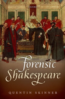 Forensic Shakespeare, Hardback Book