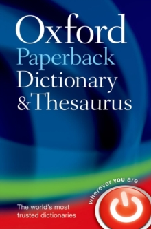 Oxford Paperback Dictionary & Thesaurus, Paperback / softback Book