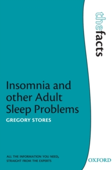 Insomnia and Other Adult Sleep Problems, Paperback Book