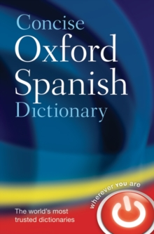 Concise Oxford Spanish Dictionary, Hardback Book