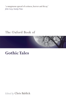 The Oxford Book of Gothic Tales, Paperback Book