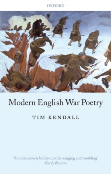 Modern English War Poetry, Paperback / softback Book
