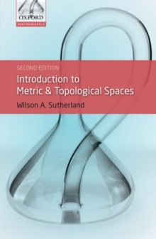 Introduction to Metric and Topological Spaces, Paperback / softback Book