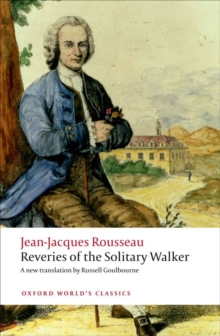 Reveries of the Solitary Walker, Paperback / softback Book