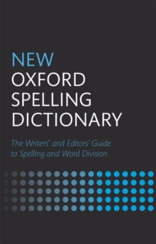 New Oxford Spelling Dictionary, Hardback Book