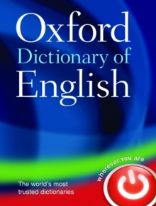 Oxford Dictionary of English, Hardback Book