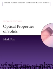 Optical Properties of Solids, Paperback Book