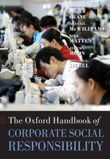 The Oxford Handbook of Corporate Social Responsibility, Paperback Book