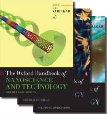 Oxford Handbook of Nanoscience and Technology : Three-Volume Set, Multiple copy pack Book