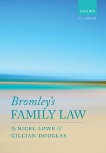 Bromley's Family Law, Paperback Book