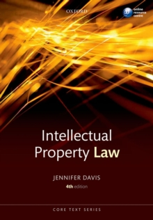 Intellectual Property Law Core Text, Paperback / softback Book