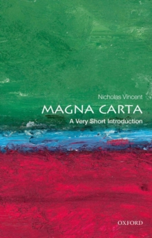 Magna Carta: A Very Short Introduction, Paperback / softback Book