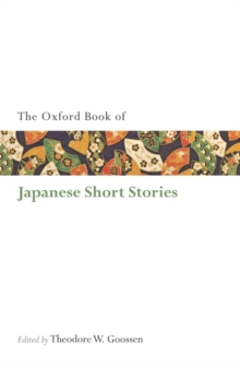The Oxford Book of Japanese Short Stories, Paperback Book