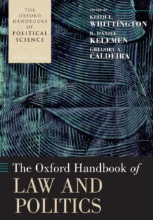 The Oxford Handbook of Law and Politics, Paperback Book
