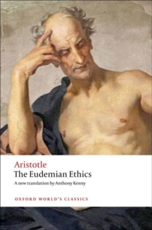 The Eudemian Ethics, Paperback Book