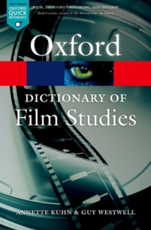 A Dictionary of Film Studies, Paperback Book
