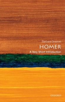 Homer: A Very Short Introduction, Paperback / softback Book