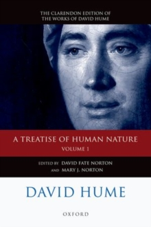 David Hume: A Treatise of Human Nature : Volume 1: Texts, Paperback / softback Book
