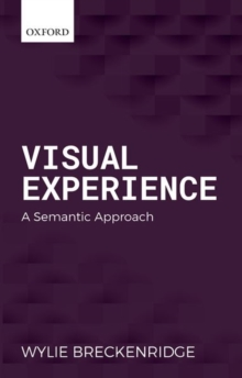 Visual Experience : A Semantic Approach, Hardback Book