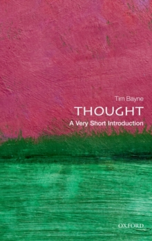Thought: A Very Short Introduction, Paperback Book