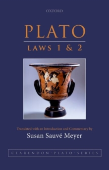Plato: Laws 1 and 2, Paperback Book