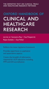 Oxford Handbook of Clinical and Healthcare Research, Part-work (fasciculo) Book