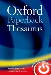 Oxford Paperback Thesaurus, Paperback Book