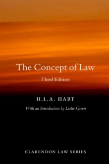 The Concept of Law, Paperback / softback Book