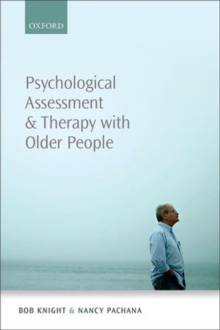 Psychological Assessment and Therapy with Older Adults, Paperback Book