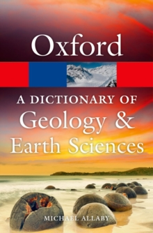 A Dictionary of Geology and Earth Sciences, Paperback / softback Book