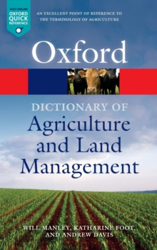 A Dictionary of Agriculture and Land Management, Paperback / softback Book
